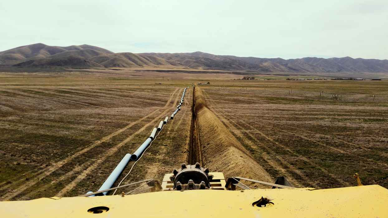 Pipeline Project in Oakley, Idaho