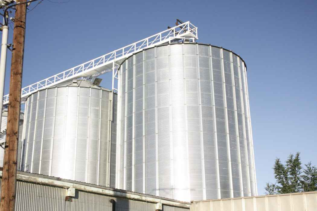 Automatic Grain Bin with Conveyor Loading
